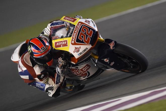 Nejrychlejším jezdcem testu v Kataru je Sam Lowes