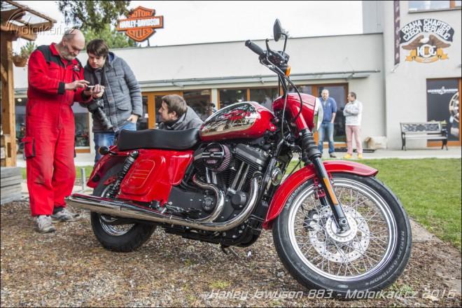 Harley-Jawyson 883 z Šalamounky