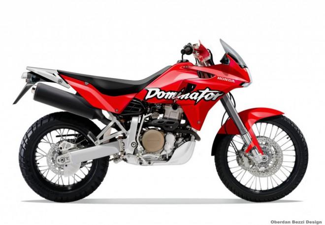 Honda možná vzkøísí model Dominator