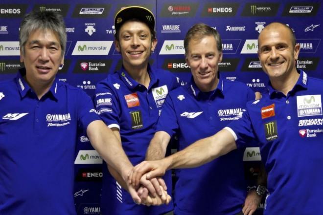 Yamaha potvrdila prodloužení smlouvy s Rossim