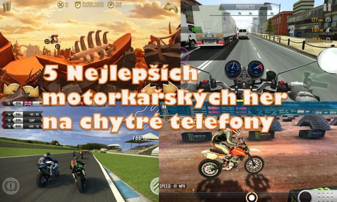 5 nejlepších motorkáøských her na chytré telefony