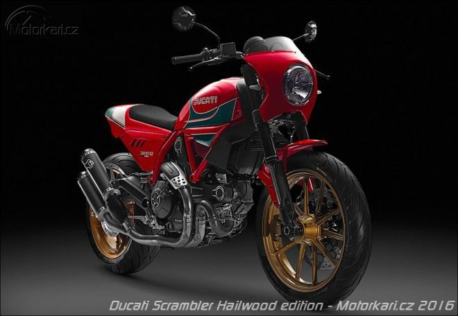 Ducati Scrambler v limitované edici Mike Hailwood