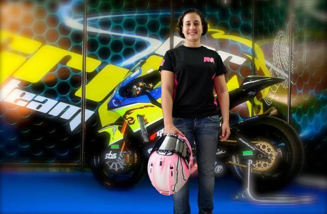 Ana Carrasco pojede evropský šampionát CEV Moto2
