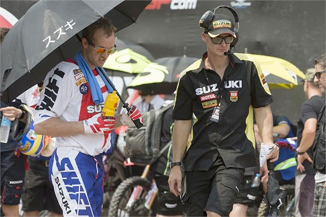 Stefan Everts a Suzuki pøed mexickou GP