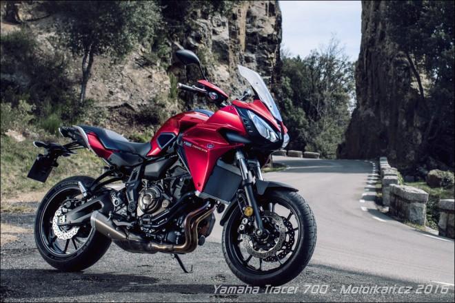 Yamaha Tracer 700 ještì letos