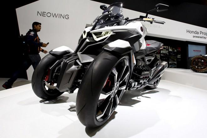 Tøíkolka Honda Neowing je blíž k sériové výrobì