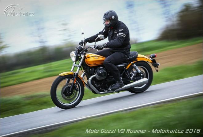 Moto Guzzi V9 Roamer: Na první signální