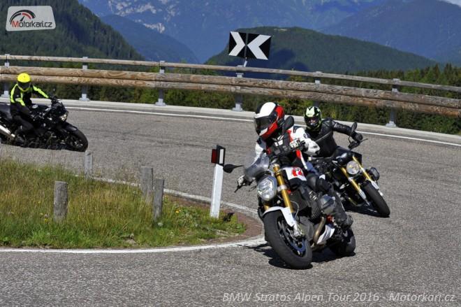 Stratos Alpen Tour: Italské Dolomity s BMW Motorrad