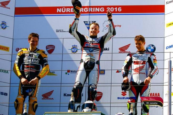 Na Nürburgringu získal Halbich první stupnì vítìzù IDM