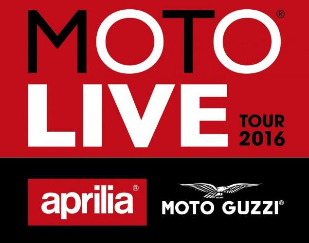 Aprilia a Moto Guzzi zvou na Demo Tour