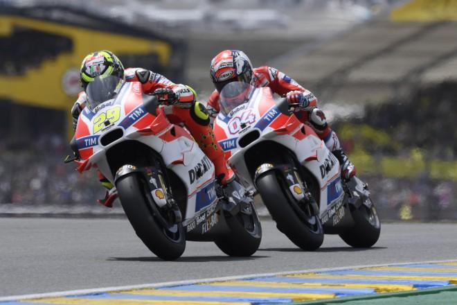 Tovární Ducati zùstala ve Francii bez bodu