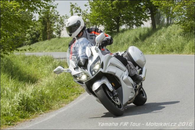 Yamaha FJR1300: první ochutnávka