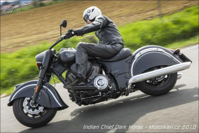 Indian Chief Dark Horse: temná síla