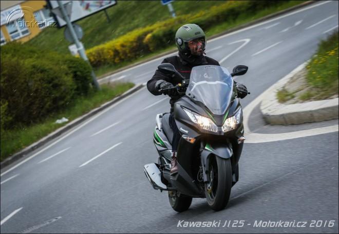 Kawasaki J125: Ninja pro autaøe