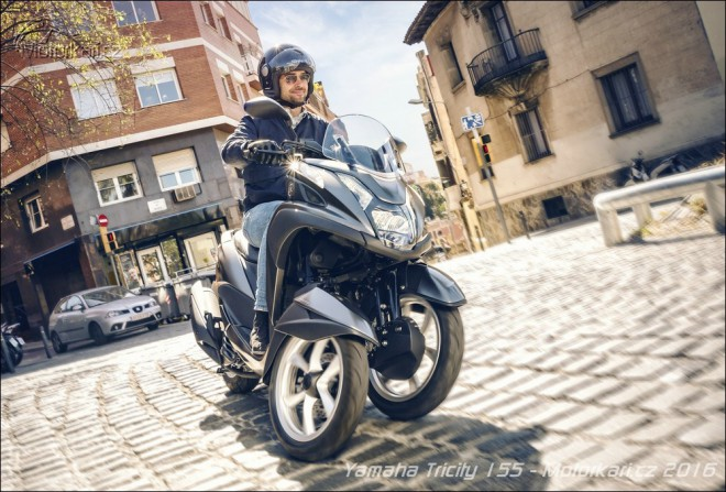 Yamaha posiluje t��kolku Tricity