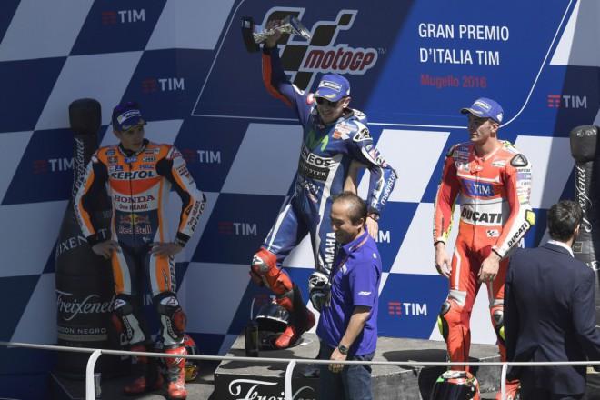 Ohlasy ze stupòù vítìzù italské Grand Prix
