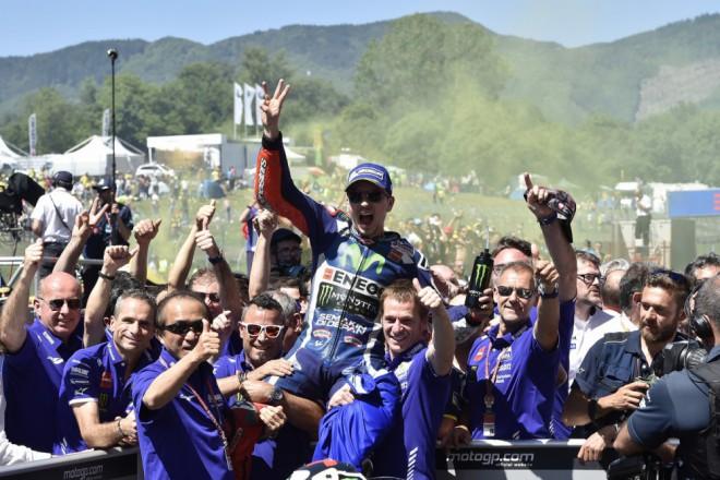 GP Itálie – Vyhrál Lorenzo, Márquez je druhý, Iannone tøetí