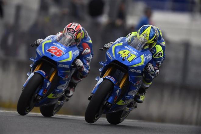 Tým Suzuki MotoGP testoval ve Valencii