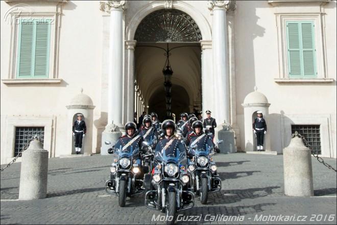 Moto Guzzi California pro øímskou hradní stráž