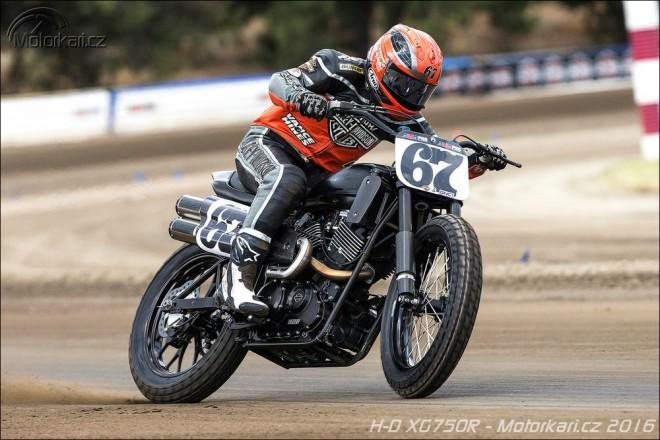 Harley-Davidson pøedstavuje nový závodní speciál