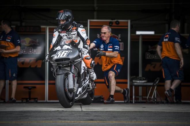 T�m KTM MotoGP testoval podruh� v Brn�
