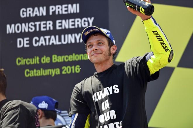 GP Katalánska – Bitvu s Márquezem vyhrál Rossi, Kornfeil desátý