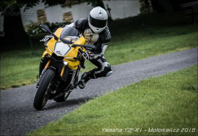 Yamaha YZF-R1: žlutá støela