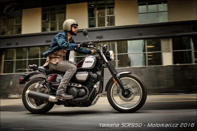 Yamaha vyjíždí s novým scramblerem SCR950. Zatím jen pro USA