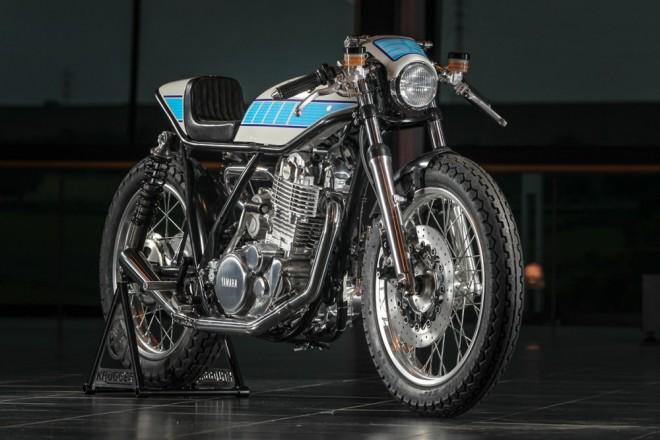 Yamaha SR400 pro mechanika MotoGP