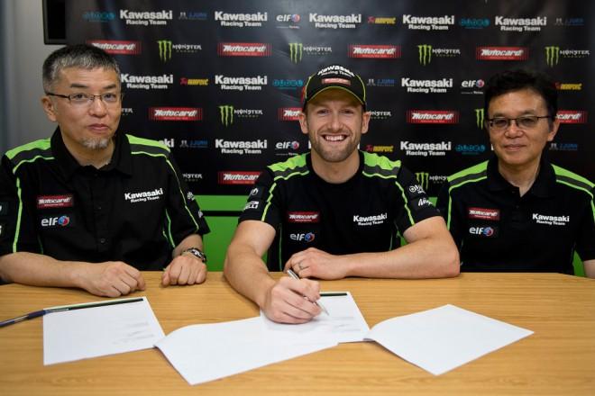 Tom Sykes prodlou�il s Kawasaki na dal�� dva roky