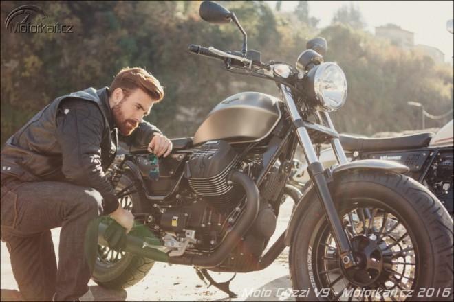Moto Guzzi V9 – skok pøes vlastní stín
