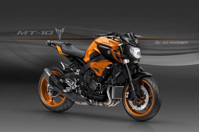 Yamaha MT-10 podle AD Koncept. Jak se vám líbí?