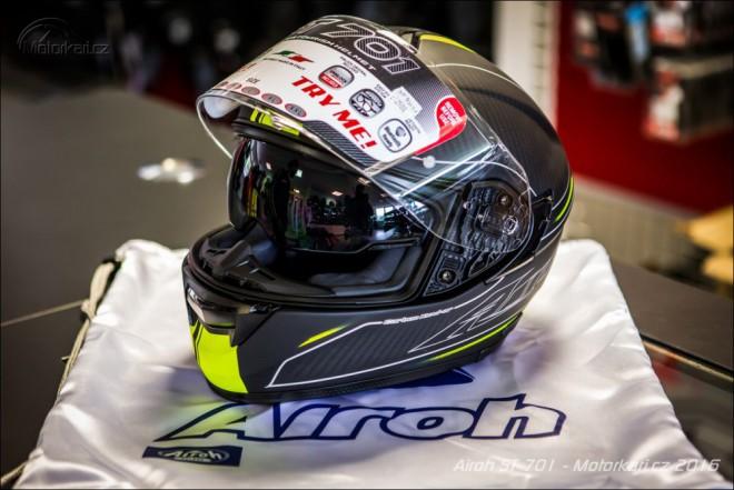 Airoh ST 701: nová pøilba v prodejnách Paolo