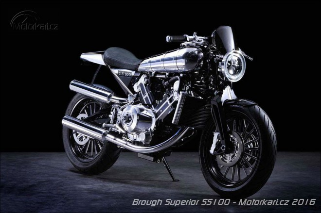 Brough Superior SS100 jde kone�n� do v�roby