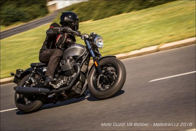 Moto Guzzi V9 Bobber: Když chceš život žít