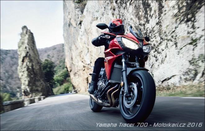 Testujeme Yamahu Tracer 700