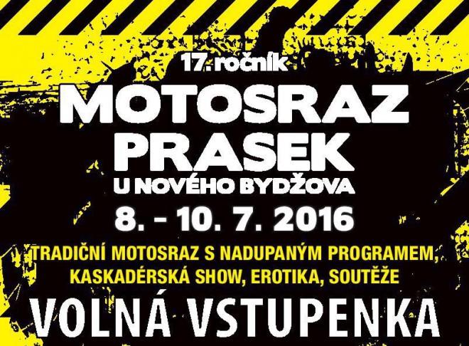 Soutìžte o volné vstupenky na Motosraz Prasek