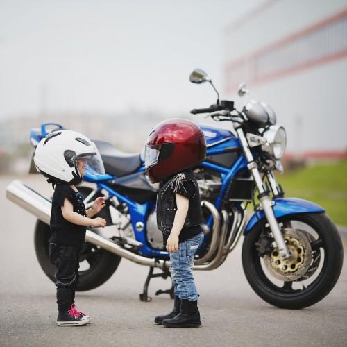 Buïte pøipraveni chránit jak svou motorku, tak sebe