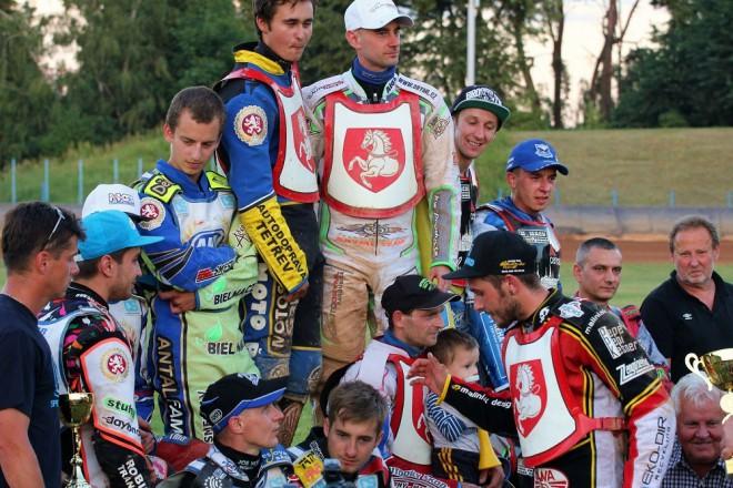 Extraligový závod vyhrály domácí Pardubice