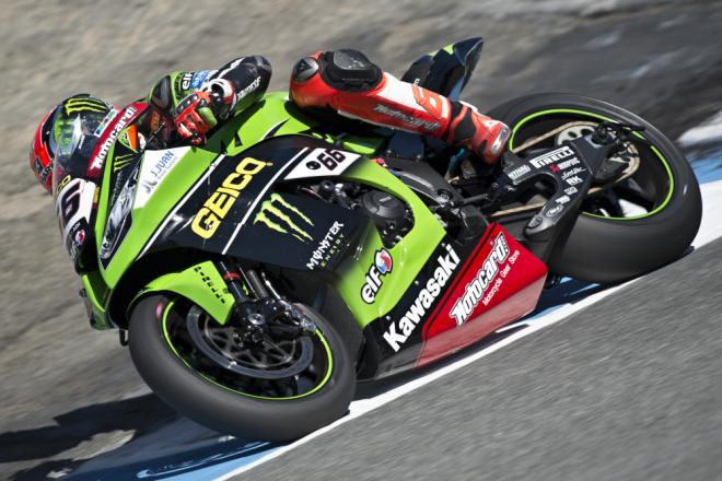 Kawasaki Racing nastoupí v Lagunì s GEICO