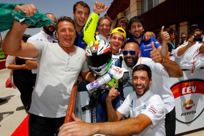 V Albacete vyhrál závod Moto3 Dalla Porta, Hanika pátý