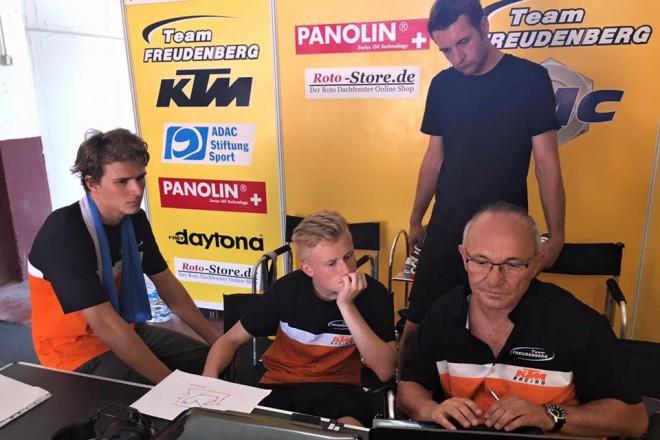 S Karlem Hanikou po závodu FIM CEV v Albacete