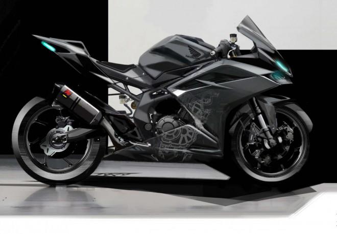 Honda CBR250RR: první oficiální podoba