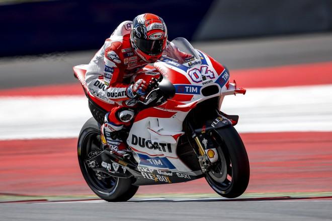 První den na Red Bull Ringu ovládli jezdci Ducati