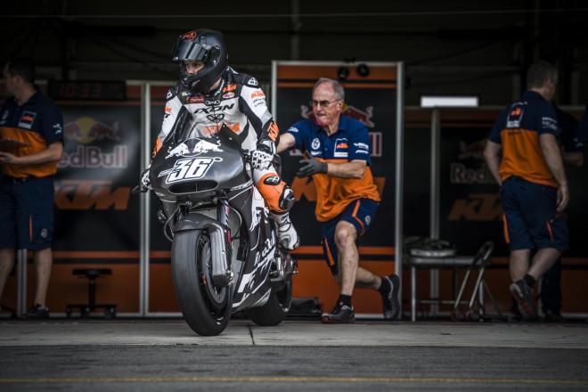 Kallio potvrdil závodní premiéru KTM ve Valencii