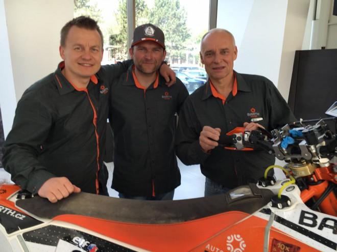 Barth Racing má potvrzeny jezdce pro Dakar 2017