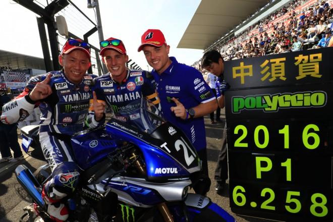 Espargaró získal pro Yamaha Factory Racing pole position