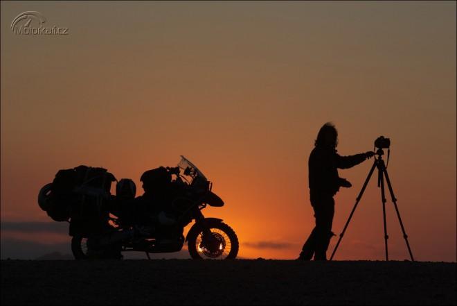 Michael Martin: 30 let na motorce s fotoaparátem