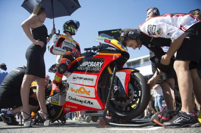Forward Racing prodlou�il s Baldassarrim a Marinim