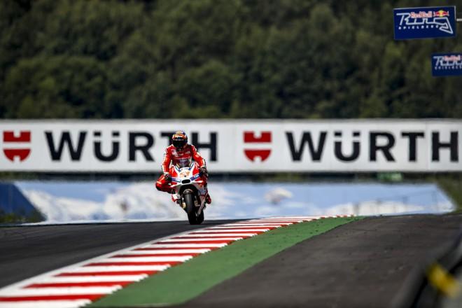 V Rakousku má Ducati šanci na dobrý výsledek